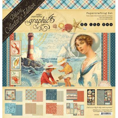 Graphic 45 - By the Sea Deluxe Collector's Edition